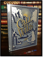 The Call of the Wild by Jack London New Leather Bound Illustrated Gift Hardback