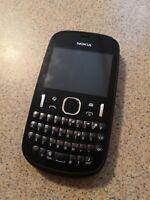 Nokia Asha 201 - Graphite (Unlocked) Smartphone