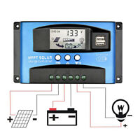 60A MPPT Solar Panel RegulatorBattery Solar Charger Controller12/24V With LCD NT