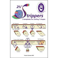 "Marti Michell 2-1/2"" Strippers Templates-3 Templates For 7 Shapes - 212"