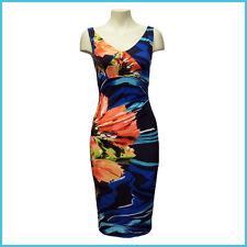 Joseph Ribkoff 162664 Women's New Floral Print Dress - Size 8 US / 10 UK