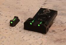 CZ 75 Tactical Sports Adjustable Rear Sight Sets with fiber optics