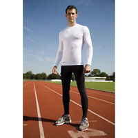 Spiro Mens Bodyfit Base Layer Leggings Quick Dry Sports Active Wear Tight Pants