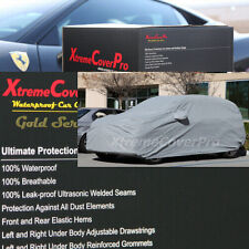 WATERPROOF CAR COVER W/MIRROR POCKET GREY for 2014 2013 HYUNDAI SANTA FE SPORT