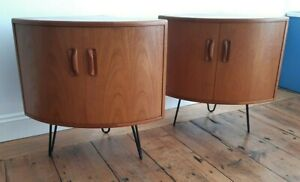 G Plan Fresco Teak Corner Cabinets Hairpin Legs 2 Available - VGC / Delivery