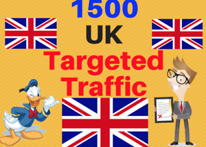 1500 UK TARGETED visitors to your web or blog site