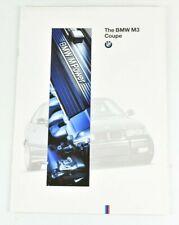 1995 BMW M3 Coupe e36 3 Series Full Color Sales Dealer Brochure