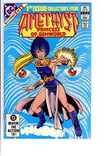 DC:Amethyst Princess of Gemworld #1 (May 1983) HIGH GRADE 9.4 & (JAN 85)#1 2-LOT