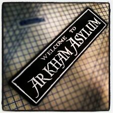 WELCOME TO ARKHAM ASYLUM (BATMAN JOKER) ALUMINUM SIGN