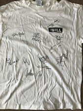 The Bill - Promotional T-Shirt Signed by 13 Cast Members - AFTAL