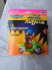 MICRO MACHINES MICRO ROBOTS VEICOLO GUASTATORE ART.65720 GIG GALOOB 1992 VINTAGE