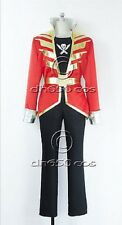 Kaizoku Sentai Gokaiger Gokai Red Cosplay Costume UK