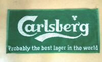 carlsberg lager pub home drip golf bar towel beer drip mat man cave gift