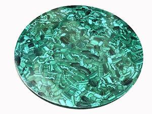 "52"" Marble center Table Handmade malachite marquetry handmade Pietra dura work"