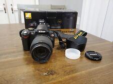 Nikon D60 Digital Slr Camera w/ 18-200mm lens Works!