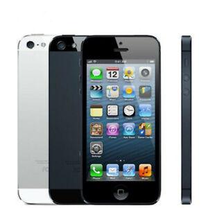 Original Apple Iphone 5 16/32/64GB Unlocked Cell phone IOS 4.0 inch 8MP WIFI GPS