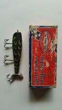Vintage Shakespeare SpecialWood Antique  Fishing Lure Bull Frog with box