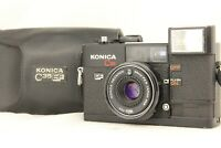 【 NEAR MINT , Meter Works 】 KONICA C35 EF 35mm Film Camera 38mm F2.8 from JAPAN