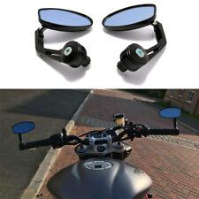 Motorcycle Aluminum Black Bar End Mirrors For Triumph Street Triple 675 / 765 #A