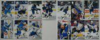 2019-20 Upper Deck UD St. Louis Blues Series 1 & 2 Team Set 13 Hockey Cards