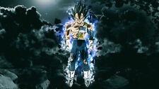 Dragon Ball Super DBS Vegeta Limit Breaker Silk poster wallpaper 24 X 13 inches