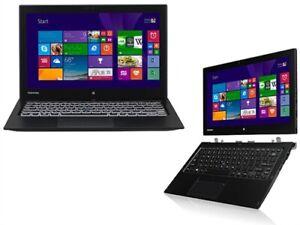 """Toshiba Portege Z20t-C Intel M7-6Y75 1.20Ghz 8GB RAM 256GB SSD 12.5"""" Win10Pro"""