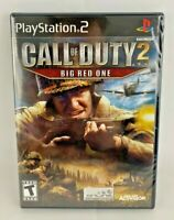 Call of Duty 2: Big Red One (Sony PlayStation 2, 2005  Brand New Factory Sealed