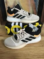adidas Marquee Boost Low Mens Linen Basketball Shoes Sneakers Sz 10.5 New W 📦