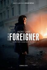 The Foreigner Movie Poster 27x40 D/S Jackie Chan Pierce Brosnan Michael McElhato