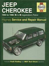 JEEP CHEROKEE 2.5 , 2.8 & 4.0 LITRE PETROL 1993 - 1996 SERVICE & REPAIR MANUAL