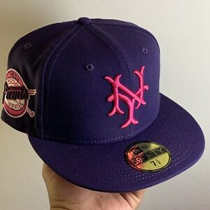 Hatclub Exclusive Aux Pack New York Giants 7 3/8 Purple 1954 World Series Pink