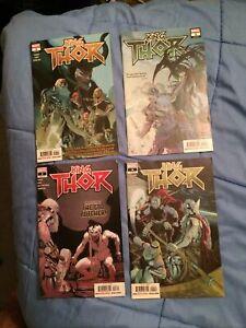 King Thor #1-4 Full Set 1st Prints [Marvel Comics, 2019]