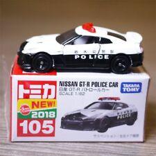 JAPAN TAKARA TOMY TOMICA 105 NISSAN GT-R POLICE CAR DIECAST MODEL 102724