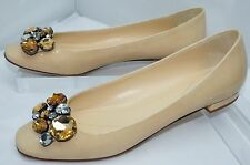 New Kate Spade Beige Shoes Flats Narina Women's Size 8 Patent Leather Ballet