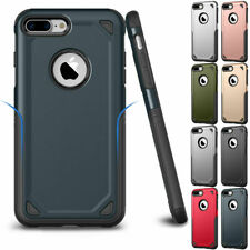 Hybrid Rubber Rugged Shockproof Hard Back Case Cover For Apple iPhone 7/8 78Plus