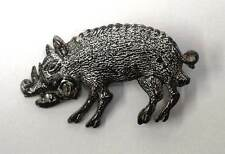 German U-Boat Badge U-85 Kriegsmarine WW2 'The Wild Boar with Rose' WWII AGED