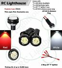 2 White and 2 Red HID HD LED Felony1/8 1/10 scale racing 12RC 2HD2W2R