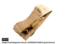 FFI CP Style Single Pistol Magazine Pouch CORDURA 500D CB FREE SHIPPING