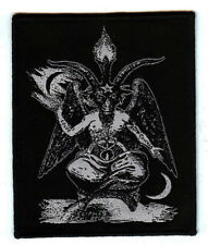 Goat of Mendes Patch Satan Occult Pagan Witch Metal Goat The Devil Baphomet
