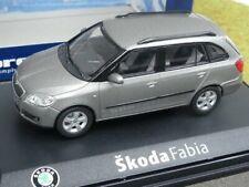 1/43 Abrex Skoda Fabia hellgrau metallic 014340
