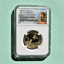 2019 S, $1 Mary Ross - Early Releases From 10 Coin Clad Proof Set, NGC PF 70 UC