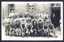 Carte Postale Photo MILITAIRES SOLDATS Souvenir du 38ème Régiment en 1935