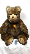 STEIFF, LARGE CUDDLY GRIZZLY BEAR (#069529) ADORABLE!