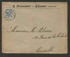 Pays-Bas Nederland timbre sur lettre /L2220