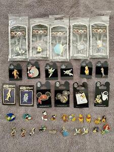(37) Walt Disney World Enamel Pins w/2000 Countdown, Muppets, Vintage+