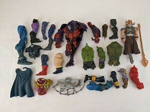 Mixed Lot Marvel Legends BAF Collect n Connect DCUC CNC #2 Toy Biz Hasbro