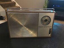 Vintage RCA Victor Impac Transistor Radio Partially Tested
