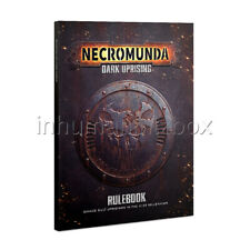 NCRO48 RULES BOOK NECROMUNDA DARK UPRISING (ENGLISH) SOFT COVER