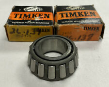 Timken 2475 Tapered Roller Bearing Cone Lot Of 2 Nos