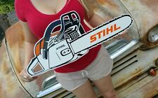 Antique Style Stihl Sign Vintage Look Chain Saw